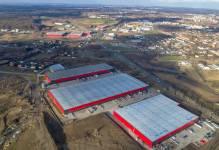 Rozbudowa parku logistycznego w Kowalach zakończona
