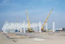 Kolejny etap budowy fabryki Mercedesa w Jaworze