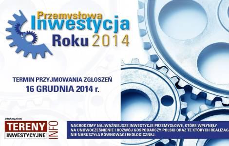 Konkurs: Przemysłowa Inwestycja Roku